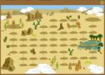 女王の砂漠map