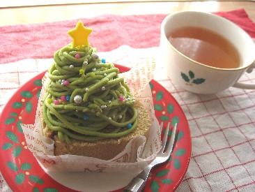 クリスマスなモンブラン☆