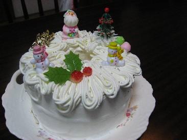クリスマスなシフォン
