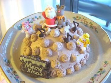 2007 クリスマスドームケーキ