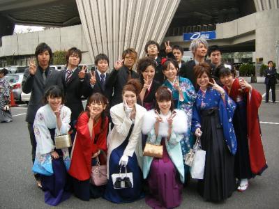 ナオミ卒業式