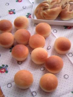 ミニミニチーズパン&マロンクリームパン(いっぷく成形)