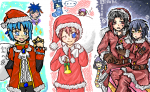 クリスマス合作 ウチ・夏蜜柑さん・亀太さん 071124