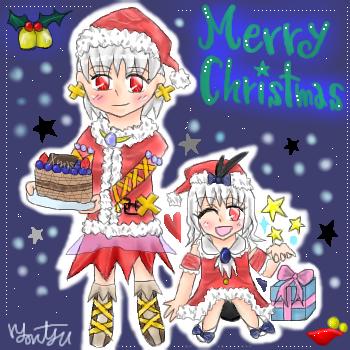 Merry★Christmas絵 071219