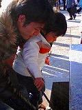 本門寺へ初詣