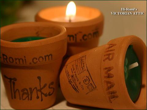 candle flower pot 2