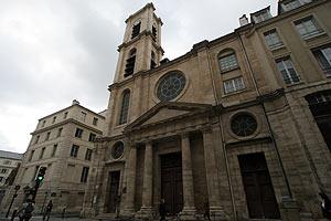 サン・ジャック・デュ・オー・パ教会