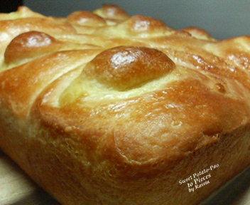 20071123おさつちぎりパン1