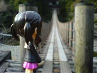 つり橋ですよつり橋!!!