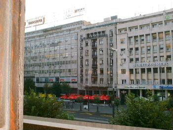 ベオグラードに多い古い建物