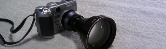 望遠レンズ