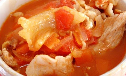 ケチャップスープ