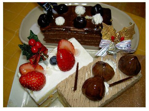 クリスマスケーキ071225
