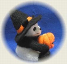 ハロウィンお兄ちゃんパンダ