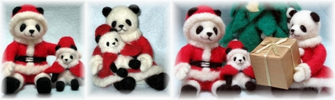 パンダ家族のクリスマス3