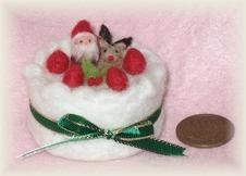 ミニクリスマスケーキ