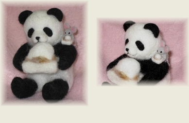 パンダとネズミ