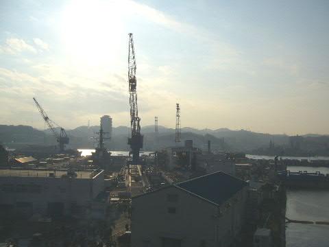 横須賀基地からの眺め