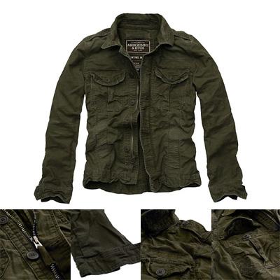 Abercrombie & Fitch(アバクロンビー&フィッチ)Men Sentinel Jacket/Dark Olive