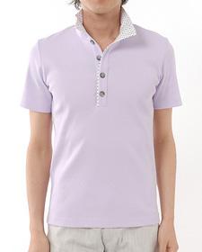 スタンドカラーポロシャツ BOYCOTT(ボイコット)
