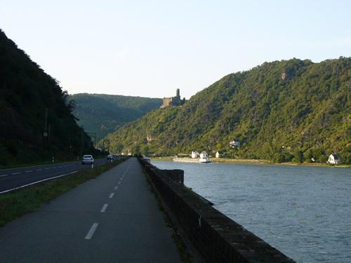 gerライン川サイクリング