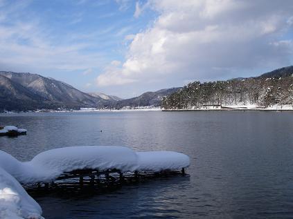 近所の湖(2008年1月5日)
