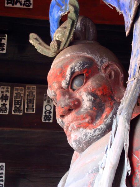 札所4番金昌寺仁王像