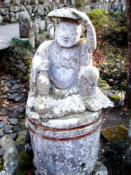 札所4番金昌寺石像