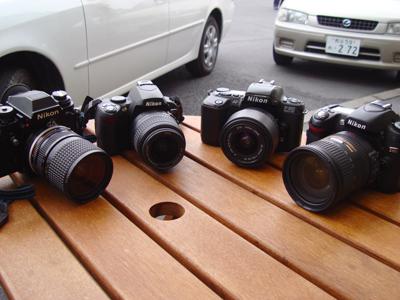 Nikonの名機達