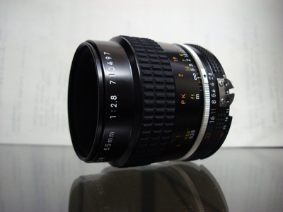 Ai Micro-Nikkor 55mm F2.8