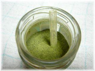 挽いた緑茶