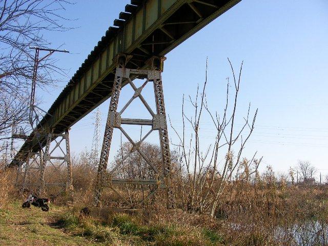 尻毛鉄橋の風景2