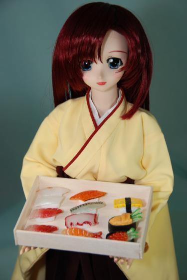 お寿司食べますか?