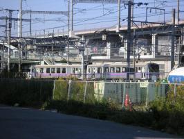 11.25 電車と新幹線レール