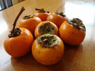 妙見の柿です 2007.11.16