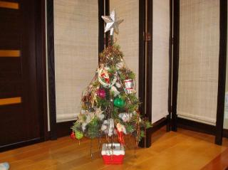 ちょっと古臭いクリスマスツリー 2007.11.21