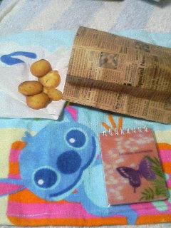 メモ帳と手作りクッキー
