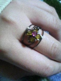 指輪(*´Д`*)
