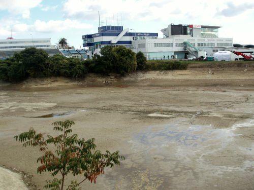 山田池とピットビル