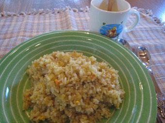カレーチャーハン スープ