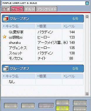 今日のメンバー20071229