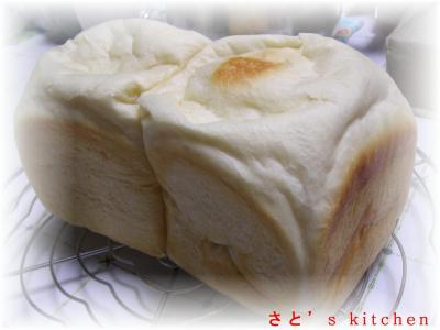 初めての角食パン・・う~ん・・・