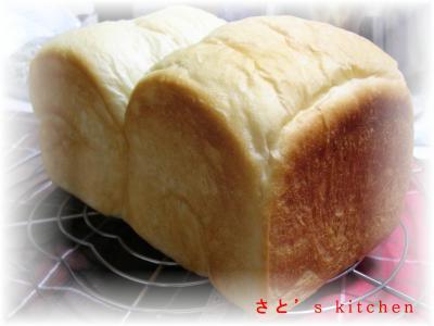 リベンジ角食パン・・・もち粉いり