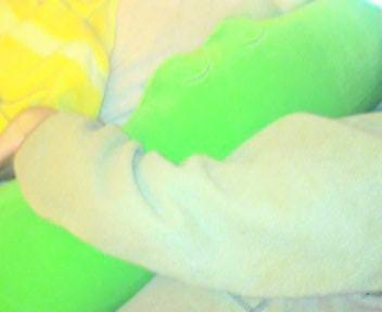 ワニの抱き枕