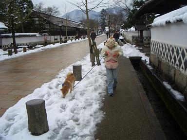 雪の津和野
