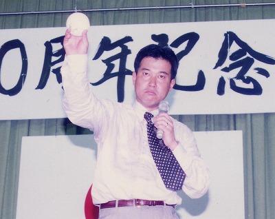 講演する原辰徳監督