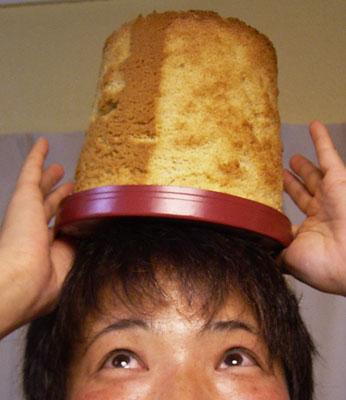 まりちゃんのシフォンケーキ1