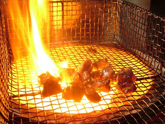 みやざき地頭鶏炭火焼