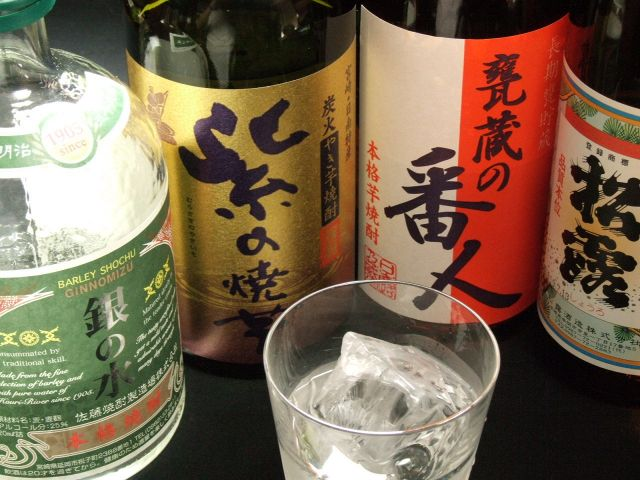 宮崎の焼酎