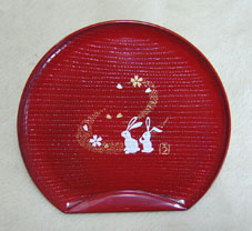 和菓子ようのお皿